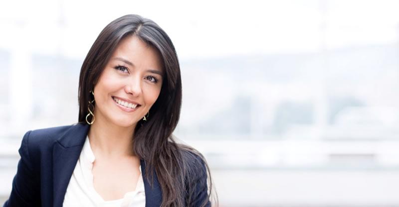 Teeth Whitening - woman smiling